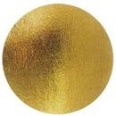 Подложка карт круг. 280мм золото 100шт