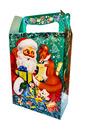 Коробка Дед мороз и Лиса 1000гр 1*150