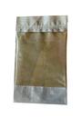 Пакет бумажный с ЗИП замком и окном 135*225+(35+35) 60гр/м2 100мм 1*50