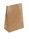 Пакет бумажный 180*120*290мм на вынос крафт 50 1*1000