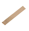 Пакет бумажный 640*100*50мм с окном багет 1/100