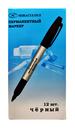 Маркер пермаментный черный 12шт МС-9500