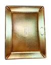 Поднос 40*30 см картон золото Дзен