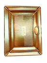 Поднос 34*24 см картон золото Дзен