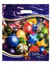 Новогодние игрушки ПВД 40*47 45мкм 1/50*1000 пак пр/р