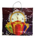 Часы и подарок с пласт. ручк. 38*35+10  100мкм 1/10*100
