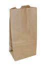 Пакет бумажный 132*90*269мм на вынос 1*100