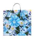 Голубые цветы 38*35 (110) 1/10*200 пак с пл.руч. РУ