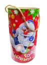 Туба Дед Мороз и Снеговичок 1,0кг. 1*40