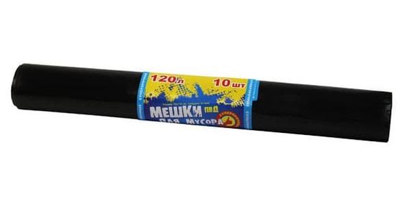 Мешки мус. 120л 70*110 (40мкм) рулон 1/10*50 Омск