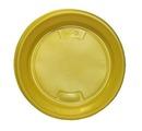 Тарелка д.165 1/100*2400 цв. желт, син, зел, красн. ИнтроПластик