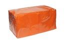 Салфетки Salfatex 33*33 300л оранжевые1*6